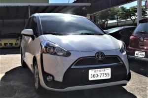 Toyota  SIENTA 2017年   TCBU優質車商認證聯盟