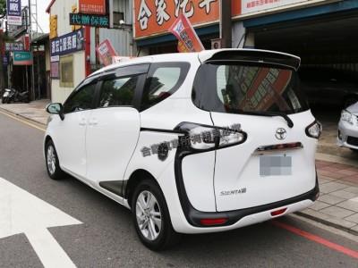 Toyota  SIENTA 2018年   TCBU優質車商認證聯盟