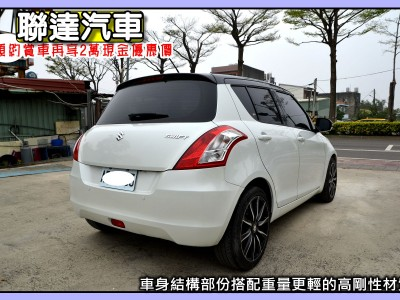 Suzuki  SWIFT 2016年   TCBU優質車商認證聯盟